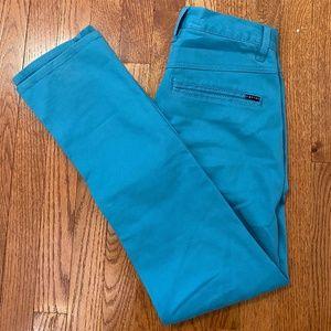 Empyre Skeletor Skinny Jeans Turquoise Blue 28x31